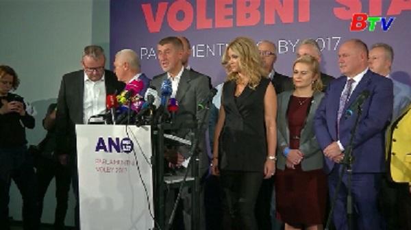 Kết quả bầu cử tại Czech - Phong trào ANO dẫn đầu