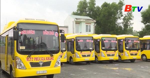 Bình Dương khuyến khích phát triển vận tải hành khách công cộng