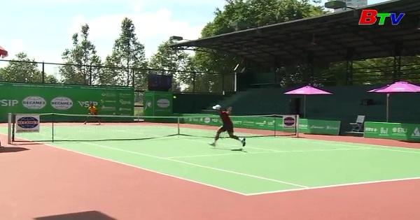 Lý Hoàng Nam thi đấu vòng 2 Giải quần vợt VietNam F3  Futures