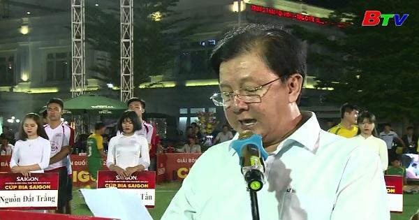 Khai mạc vòng loại Giải bóng đá mini phong trào toàn quốc 2017  Cúp Bia Sài Gòn khu vực miền Nam