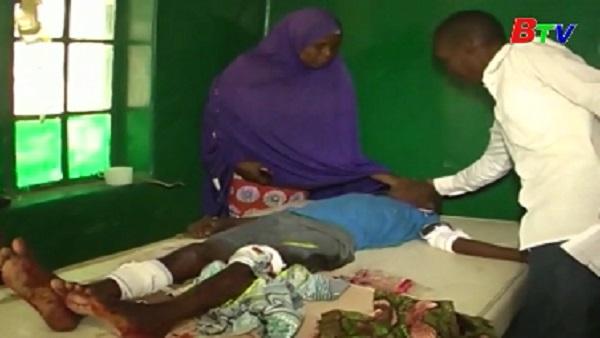 Đánh bom đẫm máu tại Nigieria, khỏang 100 người thương vong