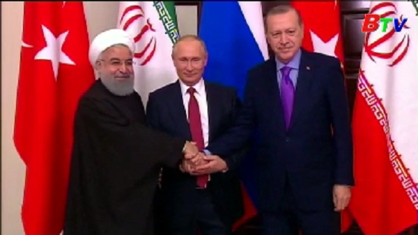 Syria hoan nghênh tuyên bố chung của Nga, Thổ Nhĩ Kỳ và Iran
