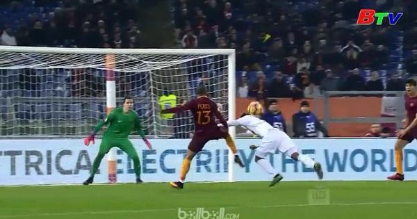 Vòng 18 Serie A: AS Roma 3-1 Chievo