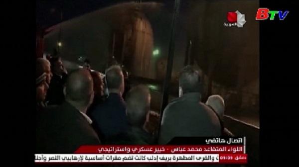 Cơ sở dầu mỏ Syria bị tấn công