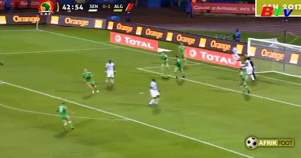 Bảng B-CAN 2017- Algeria 2-2 Senegal