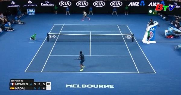 Nadal, Dimitrov giành quyền vào tứ kết
