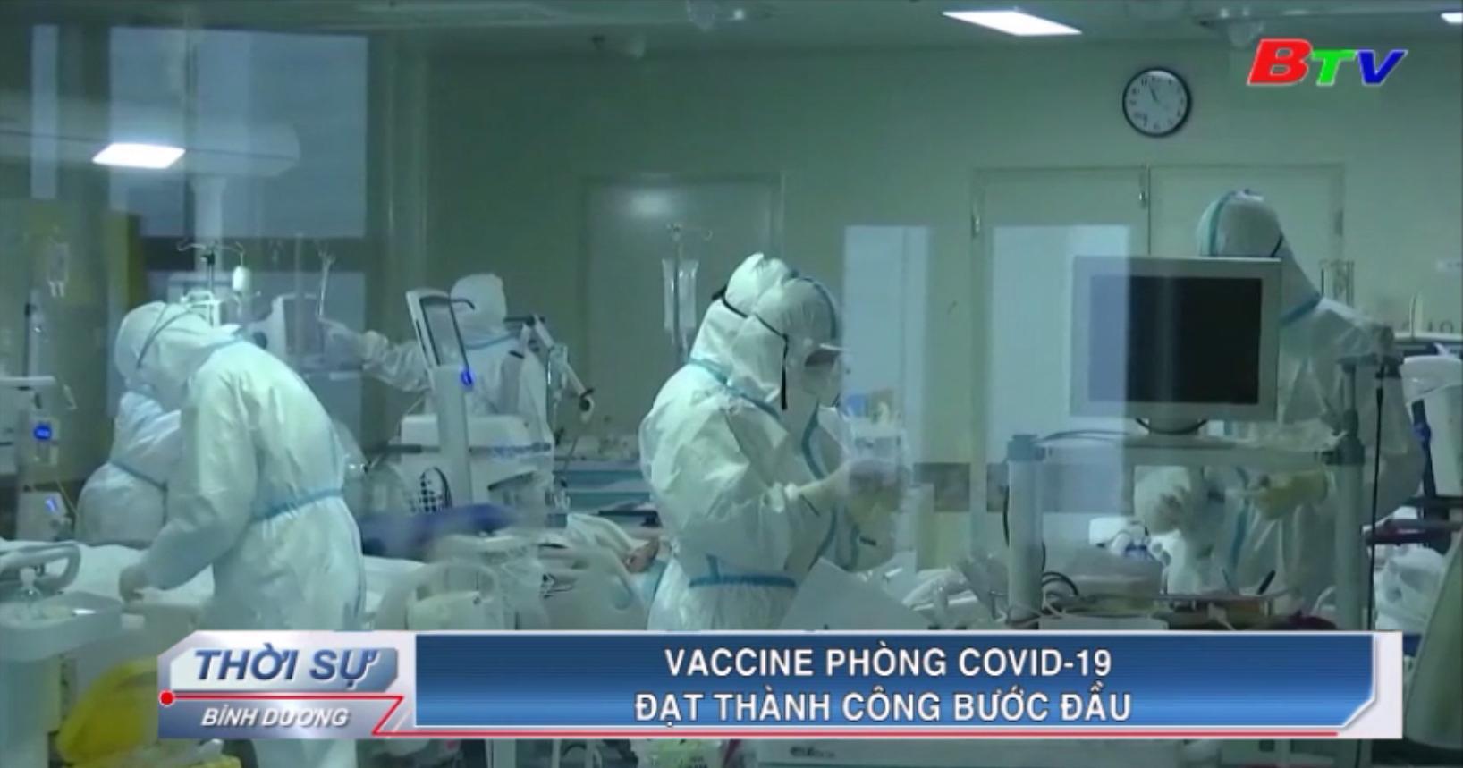 Vaccine phòng Covid-19 đạt thành công bước đầu