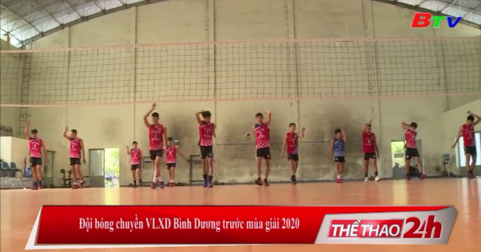 Đội bóng chuyền VLXD Bình Dương trước mùa giải 2020