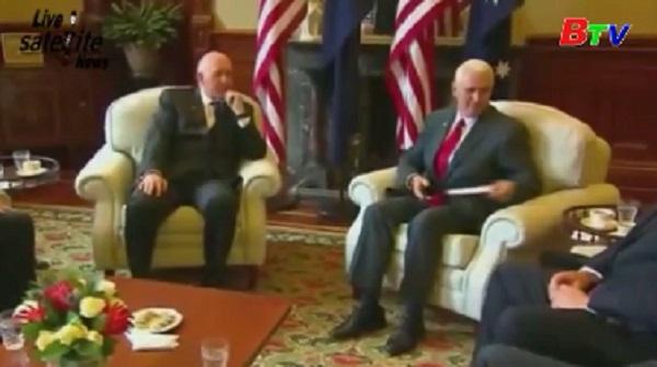 Phó Tổng thống Mỹ thăm Australia