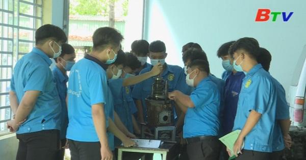 Đầu tư cơ sở cho đào tạo nghề ở Trường Trung cấp Kỹ thuật Nghiệp vụ Công đoàn Bình Dương