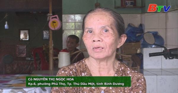 San Sẻ Yêu Thương - Hoàn cảnh gia đình chú Thắng, cô Hoa (Số 104, KP6, phường Phú Thọ, TP.Thủ Dầu Một, Bình Dương)