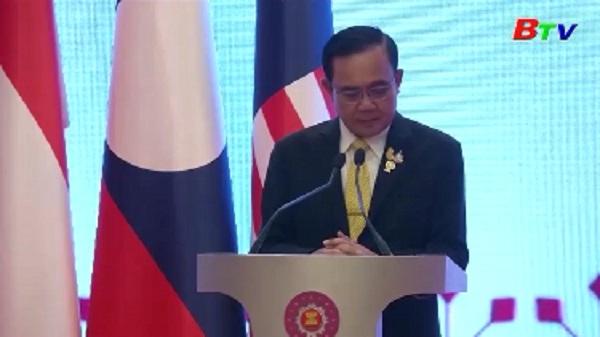 Thủ tướng Thái Lan họp báo quốc tế về kết quả HNCC ASEAN lần thứ 34