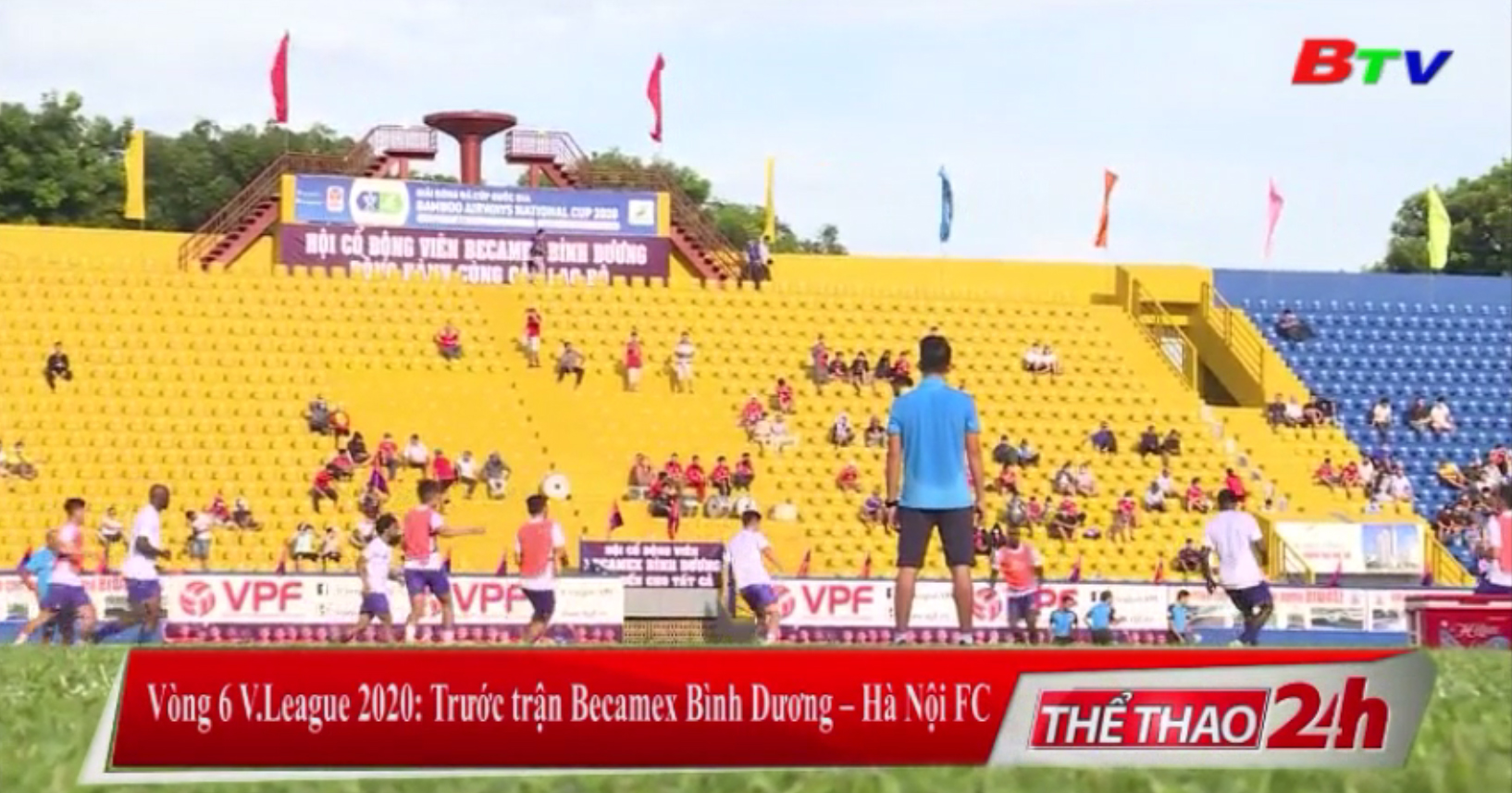 Vòng 6 V-League 2020 – Trước trận Becamex Bình Dương - Hà Nội FC