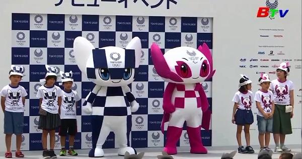 Ban tổ chức công bố biểu tượng vui Olympic và Paralympic 2020