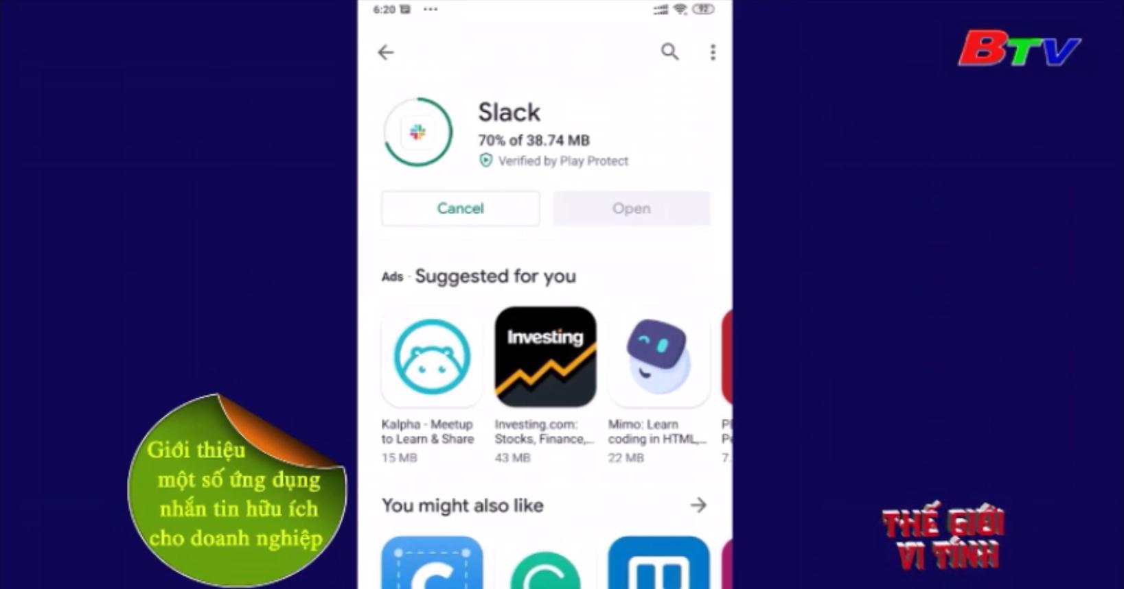 Giới thiệu một số ứng dụng nhắn tin hữu ích cho doanh nghiệp