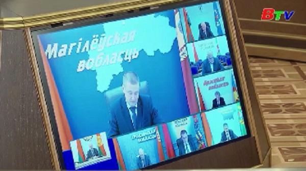 """Tổng thống Belarus đề cập kịch bản """"cách mạng màu"""""""