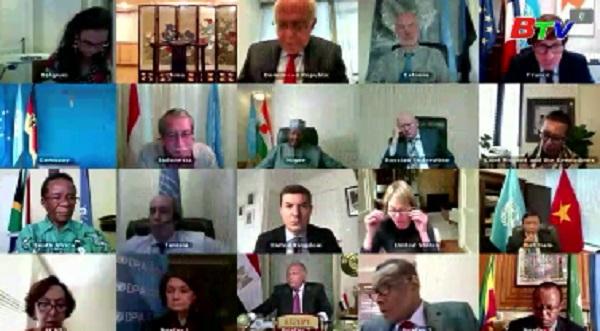 Ngoại trưởng Ai Cập, Đức thảo luận về tình hình Libya, Palestine