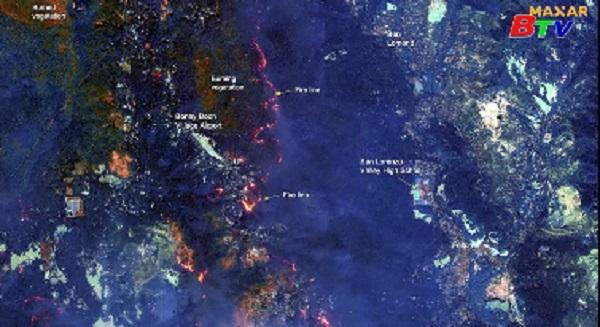 Cháy rừng tiếp tục lan mạnh tại bang California