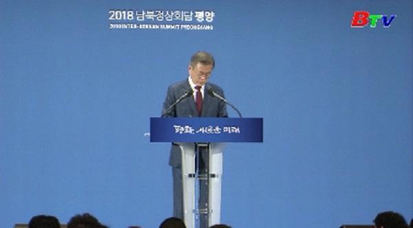 Sứ mệnh thúc đẩy đối thoại Mỹ-Triều của Tổng thống Hàn Quốc