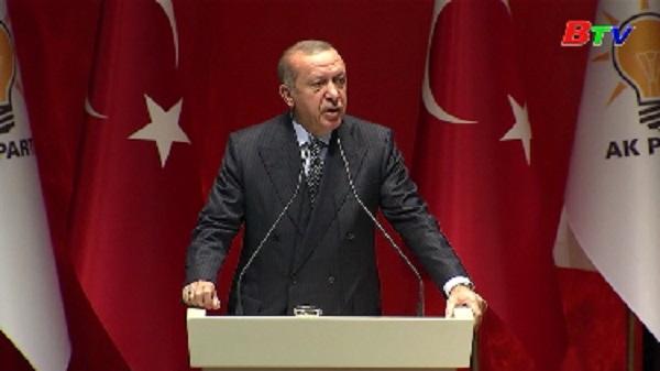 Thổ Nhĩ Kỳ đặt mục tiêu thúc đẩy hợp tác kinh tế với Đức