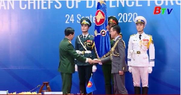 Hội nghị trực tuyến tư lệnh lực lượng quốc phòng các nước ASEAN