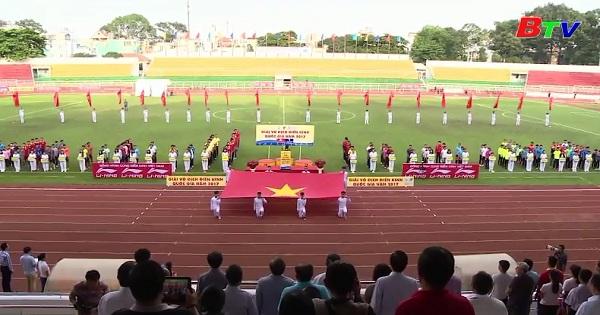 Khai mạc Giải điền kinh VĐQG 2017