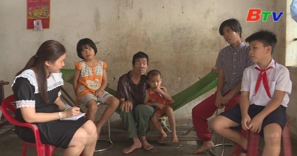 San Sẻ Yêu Thương - Hoàn cảnh anh Nguyễn Văn Bình ( Sinh năm 1970, ấp Tân Định, xã Minh Tân, huyện Dầu Tiếng)