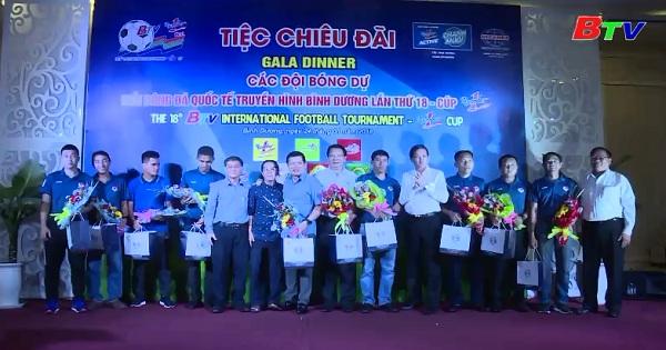 Tiệc chiêu đãi của BTC Giải Bóng đá Quốc tế BTV - Number One Cup lần thứ XVIII
