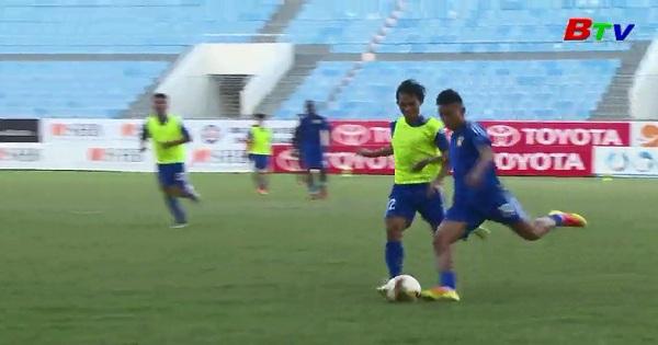 Giải Bóng đá Quốc tế BTV - Number One Cup lần thứ XVIII  trước trận Quảng Nam - Hoàng Anh Gia Lai