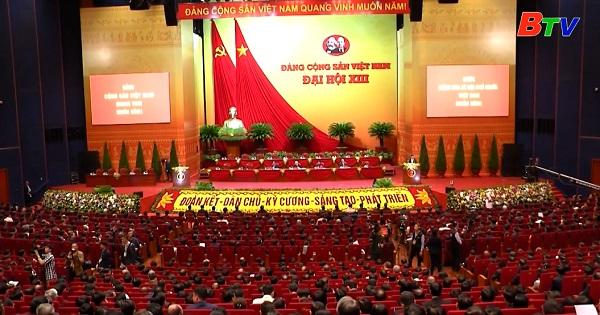 Ngày làm việc đầu tiên Đại hội lần thứ XIII của Đảng