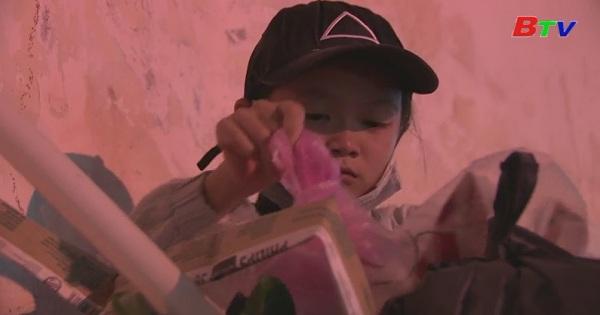 Thắp sáng ước mơ xanh - Em Dương Thanh Vy, lớp 6/3, trường THCS Phường 5, Tx.Gò Công, Tiền Giang