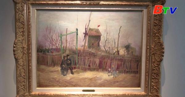 Bức tranh hiếm của danh họa Vincent Van Gogh lần đầu tiên được giới thiệu với công chúng