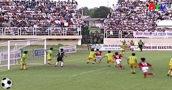 Trận đấu lên chuyên lịch sử của bóng đá Bình Dương (Bình Dương 2 - 0 Thanh Hóa)