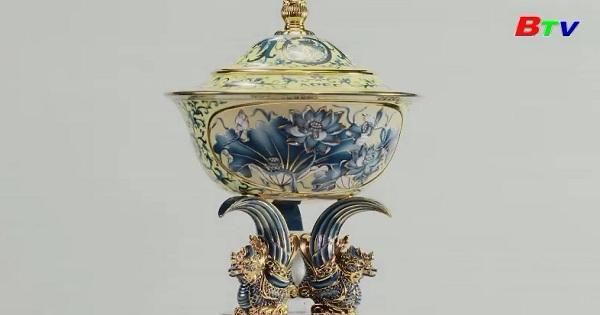 Chén ngọc Apec - Một tuyệt tác của gốm sứ