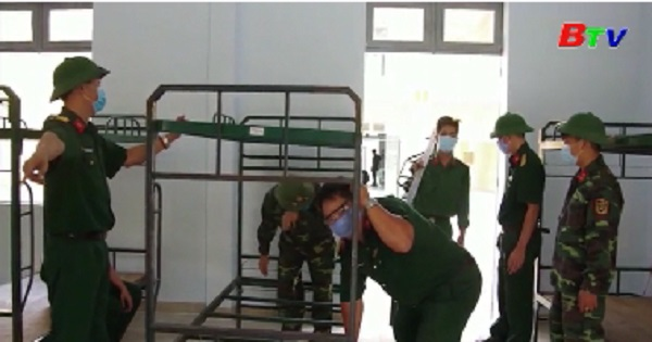 Quân đội rút kinh nghiệm và triển khai giải pháp cấp bách chống dịch COVID-19