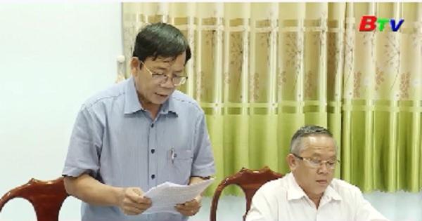 Tỉnh ủy Bình Dương kiểm tra công tác chuẩn bị Đại hội Đảng ở Bắc Tân Uyên