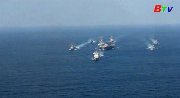 Tàu ngầm hạt nhân Mỹ sẽ tham gia tập trận gần bán đảo Triều Tiên