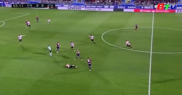 Vòng 33 La Liga-Eibar 0-1 Athletic Bilbao