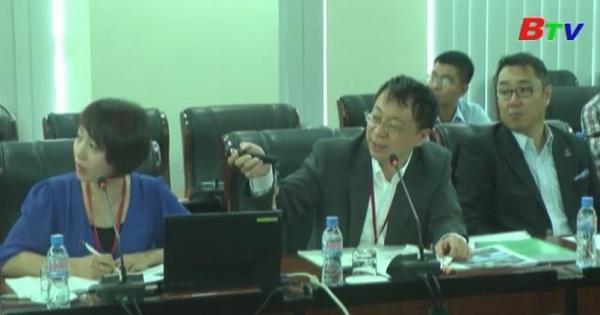 Lãnh đạo tỉnh Bình Dương làm việc với đoàn khảo sát của Bộ kinh kế và công nghiệp Nhật Bản
