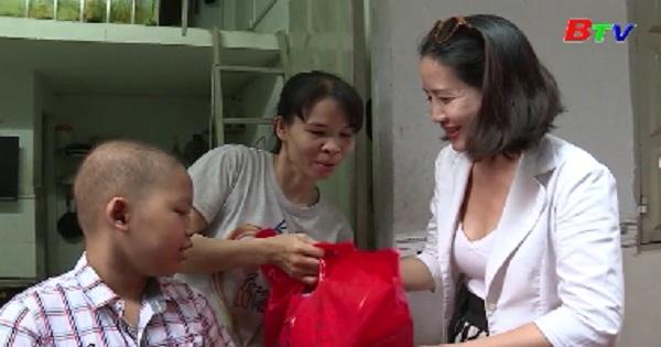Hỗ trợ trẻ bị ung thư tuyến tiết dịch