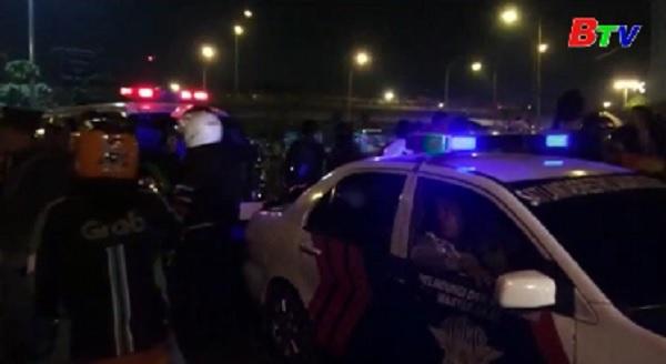 2 vụ nổ liên tiếp gây thương vong ở thủ đô Jakarta