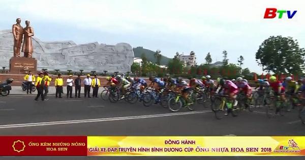 Khai mạc Giải xe đạp Truyền hình Bình Dương Cúp Ống nhựa Hoa Sen năm 2018