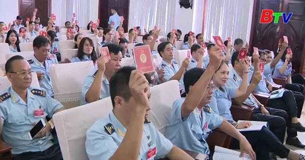 Đại hội Đảng bộ Hải Quan Bình Dương