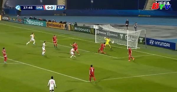 Bảng B – VCK U21 Châu Âu 2017- Tây Ban Nha 1-0 Serbia