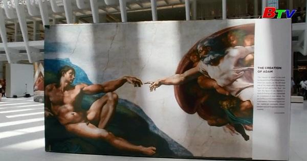 Triển lãm những kiệt tác của danh họa Michelangelo ở New York