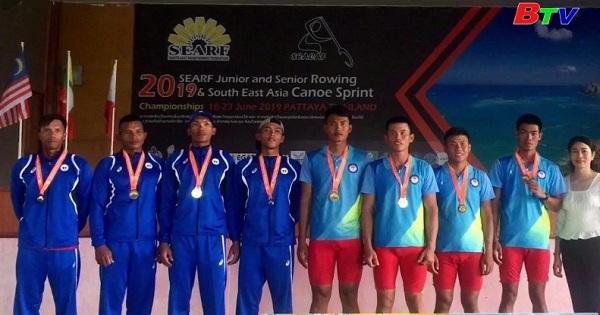 Giải vô địch Rowing và Canoeing Đông Nam Á : TP Hồ Chí Minh giành 3 huy chương vàng