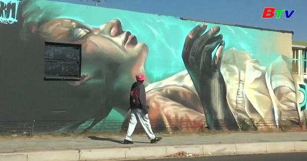 Nam phi - Thiên đường của những họa sĩ tranh tường