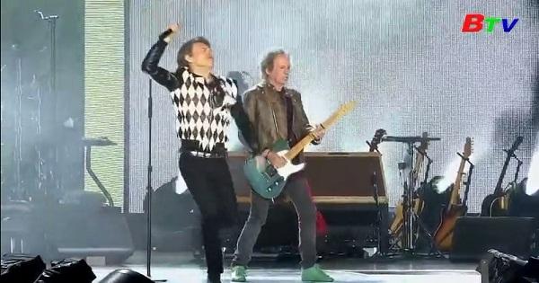 Thủ lĩnh ban nhạc Rolling Stones tái ngộ khán giả sau phẫu thuật tim