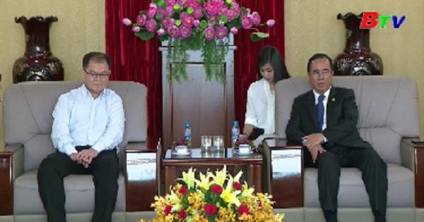 Lãnh đạo tỉnh Bình Dương tiếp doanh nghiệp Singapore