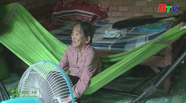 San Sẻ Yêu Thương - Hòan cảnh bà Nguyễn Thị Hiếu (sinh năm 1924, trọ ở 216/1B, KP Thạnh Hòa B, An Thạnh, Thuận An)